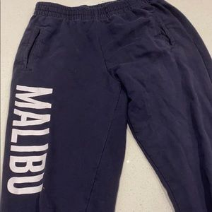 Brandy Melville J. Galt Malibu Sweatpants
